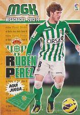 N°084 RUBEN PEREZ DEL MARMOL # ESPANA REAL BETIS CARD PANINI MGK LIGA 2014