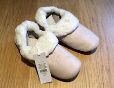 The White Company Cosy Slipper Boots, Pink, Size UK 6, RRP £35 - NWT