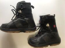 Burton Freestyle Snowboarding Boots Black Size 6