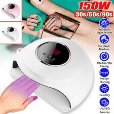 150W USB LED UV Nail Polish Dryer Lamp Gel Acrylic Curing Light Professional