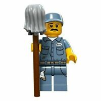 New Lego Janitor Minifigure From Series 15 (col236 col15-9)