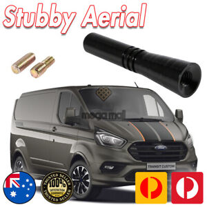 Antenna / Aerial Stubby Bee Sting for Ford Transit Custom - Black 5CM