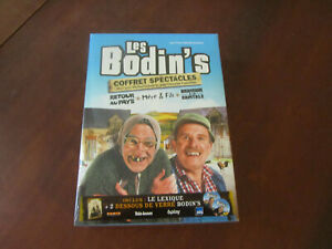 LES BODIN'S COFFRET SPECTACLES - Coffret 3 DVD Neuf