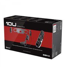Sena 10U für Shoei Neotec Bluetooth-Gegensprechanlage mit RC4 Fernbedienung