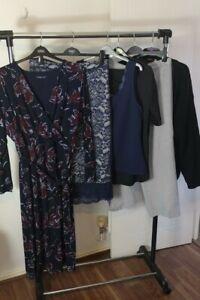 Womens Clothes Bundle Size 24 Sweater Cardigan Blouse Midi Dress Pants Top KK7