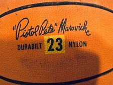 Pistol Pete Maravich Seamless Basketball Vintage LSU Hawks Old