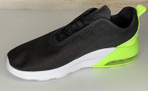 Nike Air Max Motion 2 Oil Grey MTLC Dark Grey-Volt Size Men 9