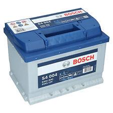 Bosch S4 004 12V 60Ah 540 A EN Autobatterie Starterbatterie ersetzt 55Ah 65Ah