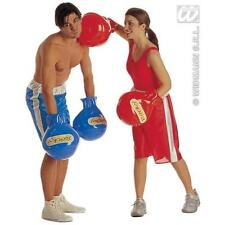 Large Inflatable Boxing Gloves Sports Olympics Fancy Dress Costume Accessory