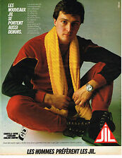 PUBLICITE ADVERTISING 035  1982  JIL   pyjamas caleçons sous vetements