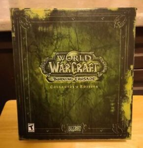 World of Warcraft: The Burning Crusade - Collector's Edition (Used Keys) MINT