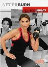 CATHE FRIEDRICH LOW IMPACT SERIES AFTER BURN DVD NEW SEALED WORKOUT EXERCISE