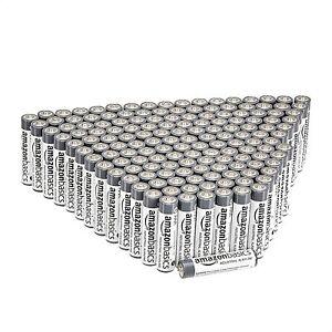 Amazon Basics HL002619 AAA Alkaline Batteries 150 Pack
