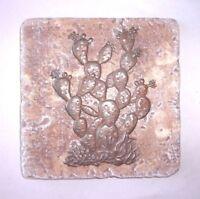 Cactus travertine tile mold plaster cement casting trim mould