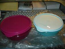 Tupperware  2 tlg. große Hitparade 600 ml pink,hellblau Neu&OVP Rarität