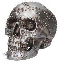Nemesis Now Horror Rivet Head Skull Figurine Gothic Gift 19cm