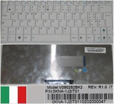 TASTIERA QWERTY ITALIANA ASUS N10 N10E 1101HA V090262BK2 0KNA-1J2IT01 Bianco