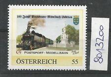 """Österreich PM personalisierte Marke Eisenbahn """"Postsport Modellbahn """" **"""