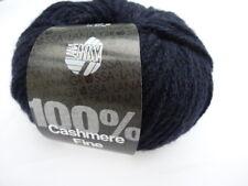 Cashmere fine 25g lana grossa 100% CASHMERE 09 blu notte