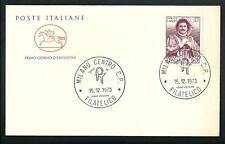 Italia 1973 : Enrico Cruso - FDC Cavallino / 1° giorno di emissione