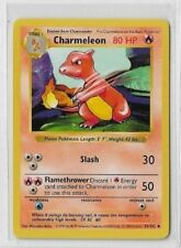 Original CHARMELEON #5 Pokemon - 1999 Wizards 24/102 Trading Card