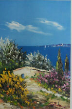 BELVISI Marcel : cabane méditerranée  - LITHOGRAPHIE originale signée/numérotée