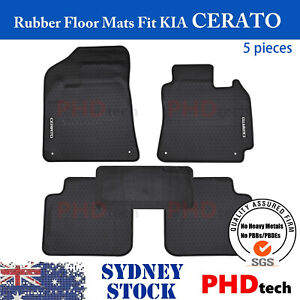 Premium Quality All Weather Rubber Car Floor Mats Fit KIA Cerato YD 2014-06/2018