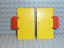 LEGO® Ritter Stadt 2x Tür gelb yellow 3644 1x4x6 aus Set 368 F861