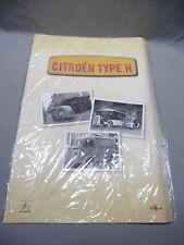DV8734 ALTAYA CITROEN TYPE H LOT 3 AFFICHES  CADEAU ABONNEMENT 45 x 31,5 cm