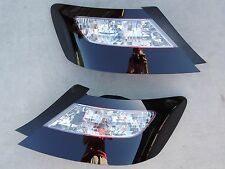 CUSTOM! 06-11 Civic 2dr OE Smoked Tail Lights Black Painted Non Led Tinted Coupe