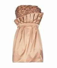 "BNWOT SASS & BIDE   ""I Dare You""   Embellished Hand Crafted Strapless Dress Sz 8"