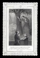 santino merlettato-holy card-canivet*LETAILLE pl.332 L'ORA SANTA