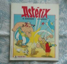 ALBUM PANINI ASTERIX (1987) - VIERGE AVEC SON POSTER ATTACHE - TBE