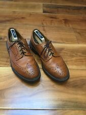 Trickers 909644 Leather Tan Brogues Size 9-W-5