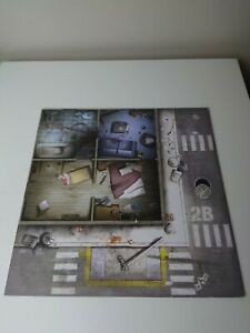 Zombicide Season 1 Board Game Spare Parts Board Section Part 2B/6B