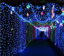 28 Feet- 9M Rice Home Decoration Lighting for Diwali, Marriage, New Year-Blue