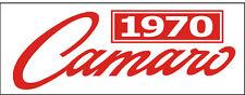 C042 1970 Camaro Chevy Chevrolet Automobile car vehicle banner garage signs