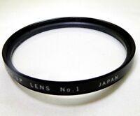 Vivitar 55mm No1 Close Up Macro +1 Lens Filter Made in Japan