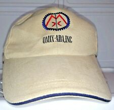 OMIX-ADA Inc Baseball Cap Buckle Adjustable Tan Hat Jeep Parts Company Omix Ada