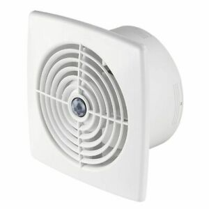 Bathroom Extractor Fan 100mm with Timer and Motion Sensor Modern Ventilator