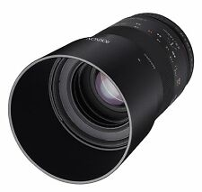 Rokinon 100mm F2.8 ED UMC Telephoto Macro Lens for Samsung NX - 100M-NX