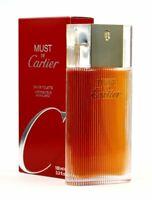 Cartier Must De Cartier Edt Eau de Toilette Spray 100ml NEU/OVP