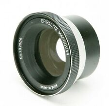 Auxiliary Lens F/Photo & Video: Spiralite Macrovar w/Reproduction Ratio 1.8-4.5.
