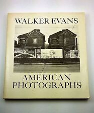 Walker Evans American Photographs 1975 Edition East River Press Photography