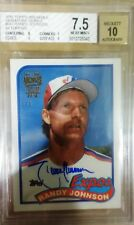 Randy Johnson Topps Archives Signature 1989 RC buyback AUTO autograph BGS #1/3
