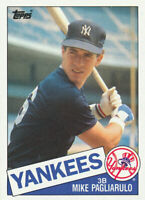 Mike Pagliarulo 1985 Topps #638  New York Yankees RC  Rookie baseball card