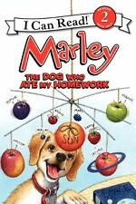 Marley: The Dog Who Ate My Homework (I Can Read Level 2) by John Grogan