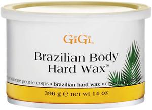 GiGi Brazilian Body Hard Wax A Non-Strip Formula for Sensitive and Delicate 396g