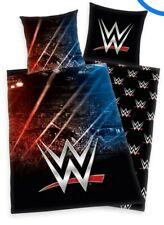 WWE Single Bed Duvet Set  Duvet Cover & Pillowcase Kids Boys Bedding Reversible