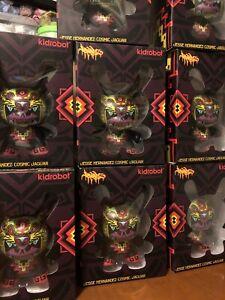"Kidrobot 2018 Dunny 5 inch ""Cosmic Jaguar Dunny"" by Jesse Hernandez"